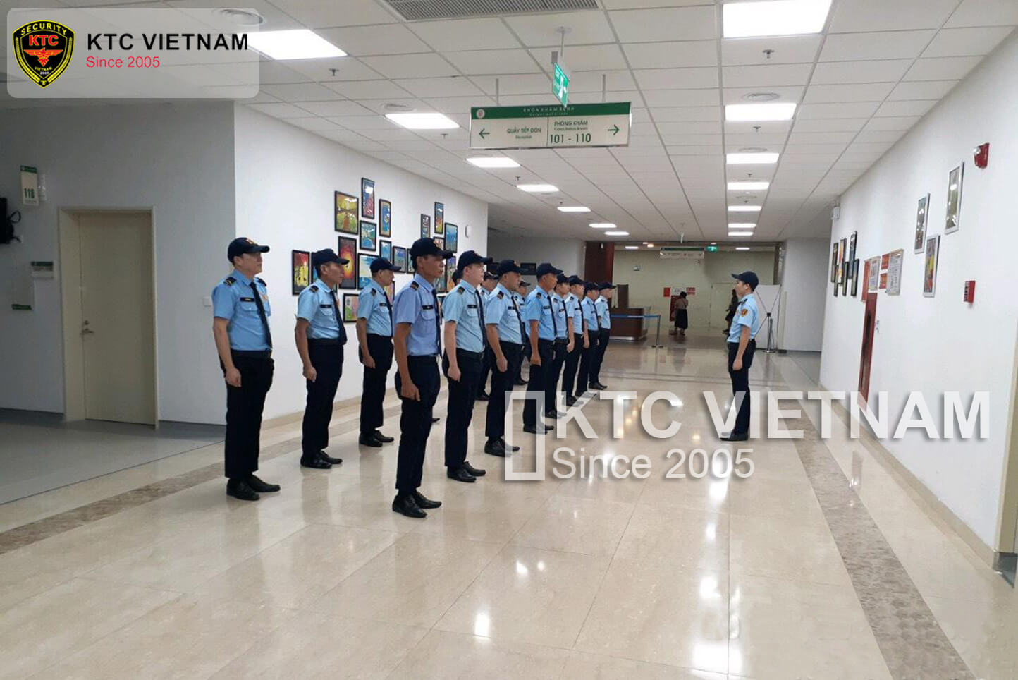 KTC deployed security service for the Military Central Hospital 108